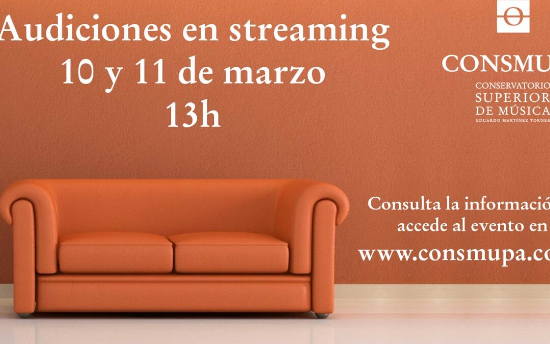 Audiciones en streaming