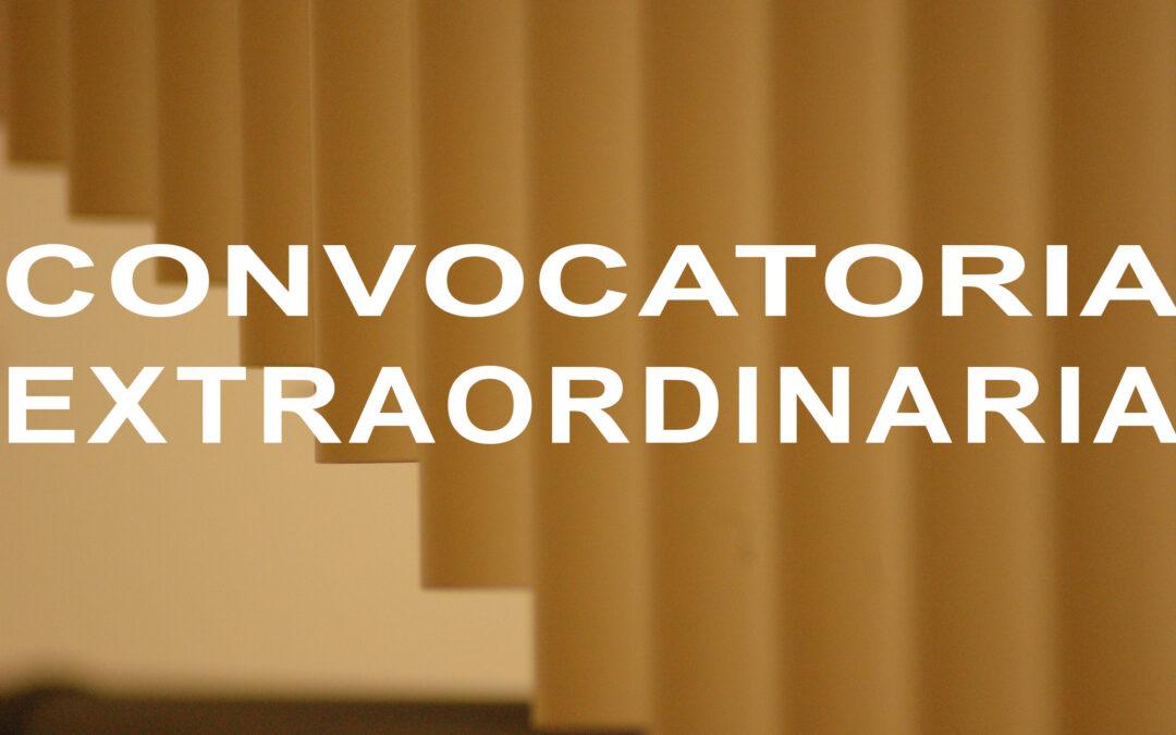 Publicación del calendario y comisiones de evaluación de la Convocatoria Extraordinaria de los EFA y TFE, y sexta convocatoria. Curso 2020-21